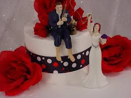 fisherman cake topper fisherman hooked on groom and reaching wedding