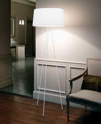 Schlafzimmer Steh Lampen Kundalini Tripod Standleuchte Schirm Weiß Als Stehlampe Direkt