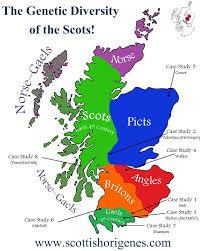 map of scotland and a ethnicity map of scotland scottish origenes scottish