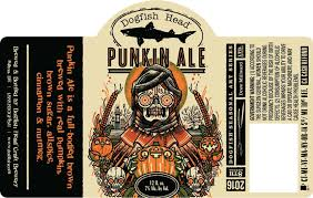 Dogfish Pumpkin Ale by The 19 Spookiest Pumpkin Beer Labels Of 2016 Thirsty Bastards
