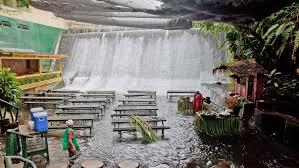 o restaurante cachoeira nas filipinas