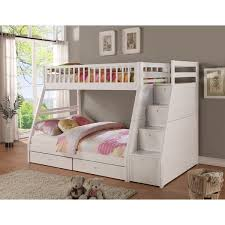 Twin Full Storage Step Bunk Bed With  Drawers Free Shipping - Step 2 bunk bed