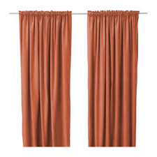 Orange Panel Curtains Curtains And Drapes Orange County Decorate The House With