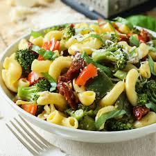 30 min stir fry vegetable pasta salad recipe video healthy