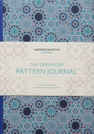 the dreamday pattern journal marrakech moroccan style coloring