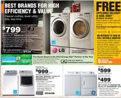 home depot washer black friday home depot ad deals for 9 13 9 19 great american fix up sale
