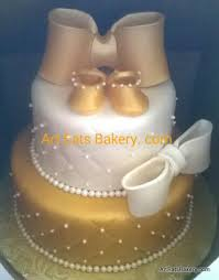 white and gold baby shower girl s baby shower specialty cakes eats bakery s sc