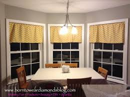 born to wear diamonds my love for chevron diy window valances