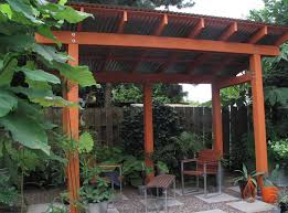 Steel Pergola Plans by Metal Roof Porch Covers Ideas Metal Roof Porch Covers Style