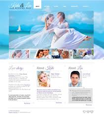 wedding website free pin by template marketplace for website templates on