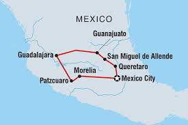 San Felipe Mexico Map by Mexican Heartlands Mexico Tours Intrepid Travel Us
