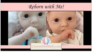 Reborn With Part 12 Reborn Baby Gloss And Before And After