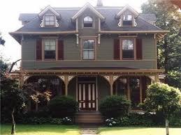 blue victorian house exterior paint color schemes makeovers sage