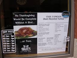 jays thanksgiving menu jays to go thanksgiving flickr