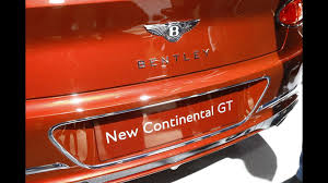 bentley u0027s luxurious new 2018 continental gt unveiled