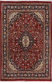 Pak Persian Rugs Handmade Pakistani Maroon Persian Isfahan Rug 6 U0027 1