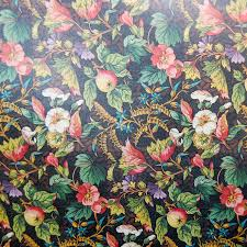 vintage country fruits and flowers decoupage paper