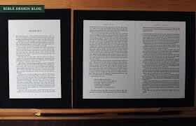 first look crossway u0027s esv reader u0027s bible u2014 bible design blog