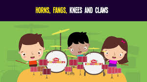 horns fangs knees and claws song for kids halloween songs for