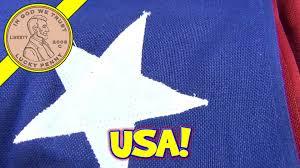 Colonial Flag Company 50 Star 5 U0027 X 9 1 2 U0027 Usa American Flag Valley Forge Flag Company