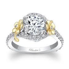 flower engagement rings barkev s flower engagement ring 7936lty