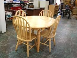 round oak kitchen table oak kitchen table chairs relaxing life