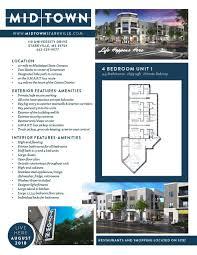 4 Bedroom Open Floor Plan 4 Bedroom U2014 Midtown Starkville