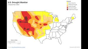 Usa Drought Map by 909 Weeks Of The Us Drought Monitor Visualized In Tableau Youtube