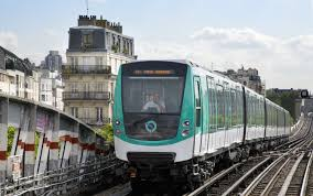 Paris Subway Metro Mf2000 U2013 Paris France France Bombardier