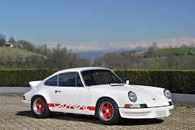 porsche 911 rs 1973 porsche 911 rs 2 7 lightweight porsche supercars