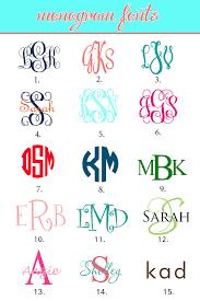 initial fonts for monogram monogram initials monogrammed fonts pinteres