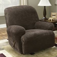 slipcover for recliner chair sure fit royal stretch recliner slipcover