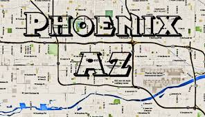 Phoenix Crime Map By Zip Code by Phoenix Gangs Map And Phoenix Hoods