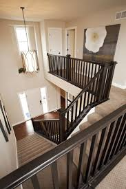 Stairway Banisters Wondrous Interior Railing Ideas 109 Diy Interior Stair Railing