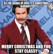 Merry Xmas Memes - meme creator by the beard of zeus it s christmas already merry