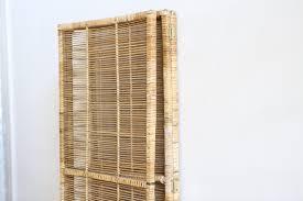wicker room divider vintage bamboo u0026 rattan folding screen room divider no 557