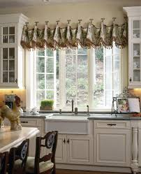 window ideas for kitchen impressive kitchen window treatment ideas