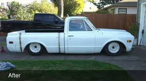 Shorty Bed Frame My Bagged 68 Gmc Update Youtube