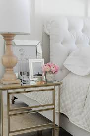 nightstand splendid mirrored chest with drawers for home