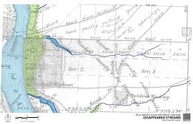 Portland Neighborhood Map Poster by Portland U2013 Hidden Hydrology