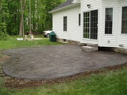 Seamless Stamped Concrete Pictures by Colored Concrete Patio Pictures Rolitz