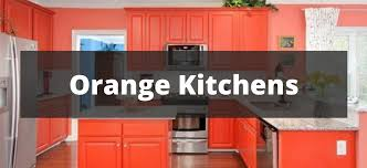 Orange Kitchens Ideas 20 Orange Kitchen Ideas For 2018