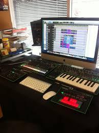 small music studio small recording studio set up at sae la cool recording studio