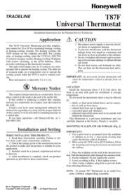 download honeywell t87f owner u0027s manual for free manualagent