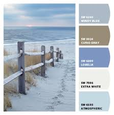 just beachy paint colors from chip it by sherwin williams