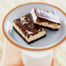 cheesecake recipes orange chocolate swirl cheesecake bars