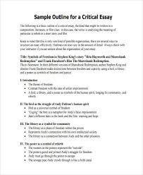 essay sample guide to writing an analytical essay guide to