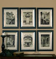 uttermost paris scene framed art set 6 wall art pinterest