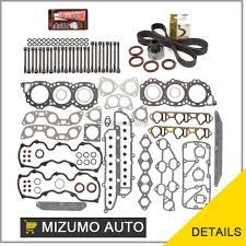 nissan maxima head gasket fit head gasket set head bolts timing belt kit 84 86 nissan maxima