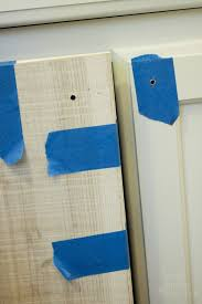 Cabinet Door Template How To Install Knobs On New Cabinet Doors And Drawers Pretty